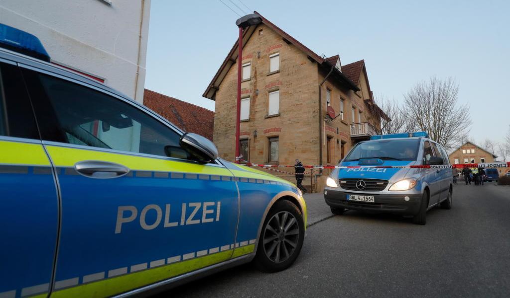 Tras tiroteo, reportan dos heridos en una ciudad alemana