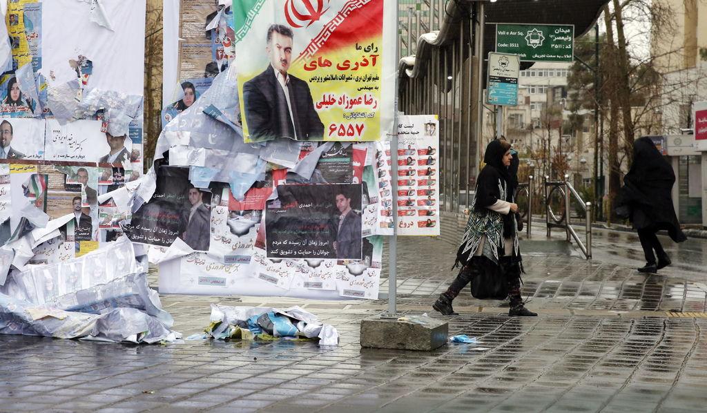 Baja participación y boicot afectan al Parlamento iraní