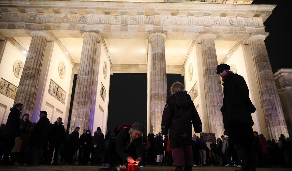 Rechazan eurolíderes el atentado en Alemania