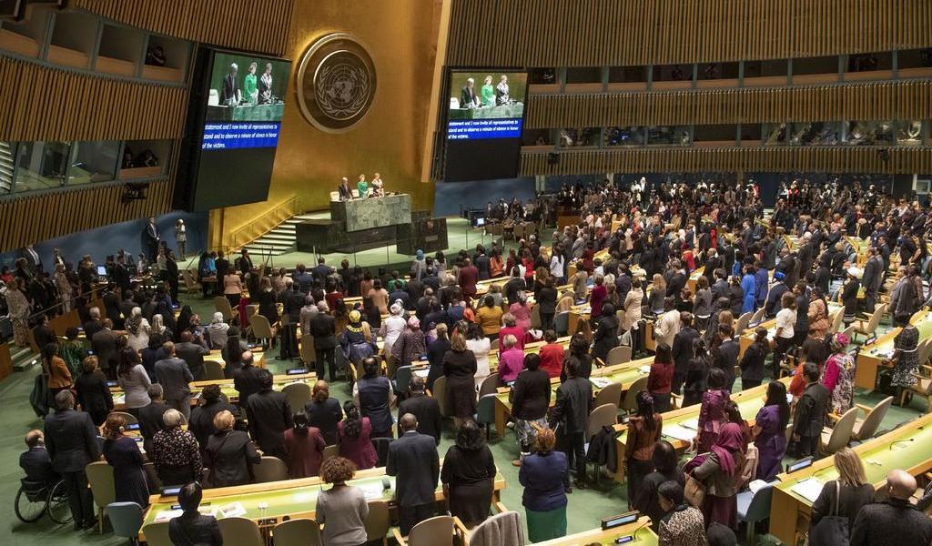 Por Covid-19, ONU reduce al mínimo su Comisión de la Mujer