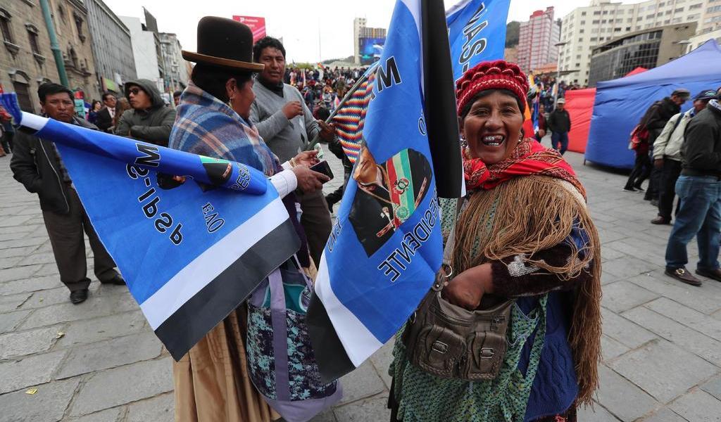 Lidera MAS preferencias rumbo a comicios presidenciales de Bolivia