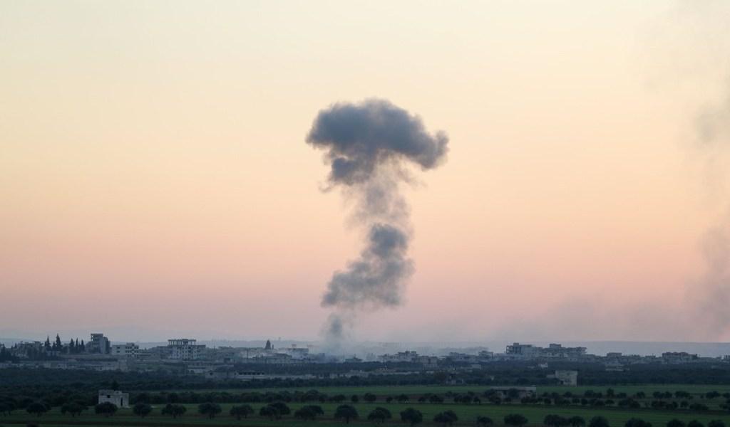Turquía derriba avión sirio en Idlib