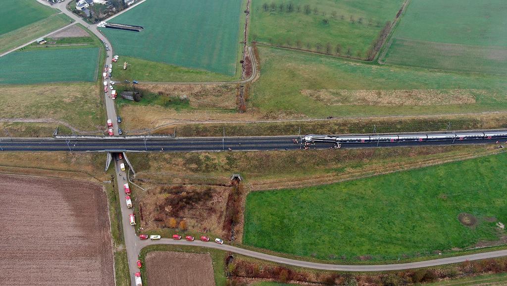 Descarrilamiento de tren en Francia deja 21 heridos