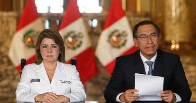 Presidente de Perú anuncia el primer caso de coronavirus en el país