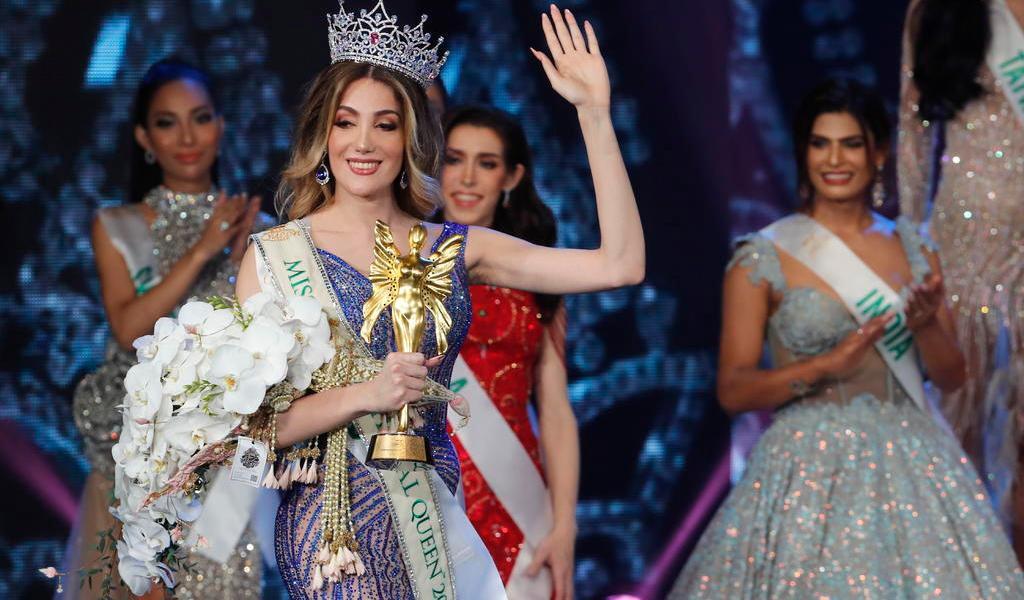 Transexual mexicana es proclamada Miss International Queen en Tailandia