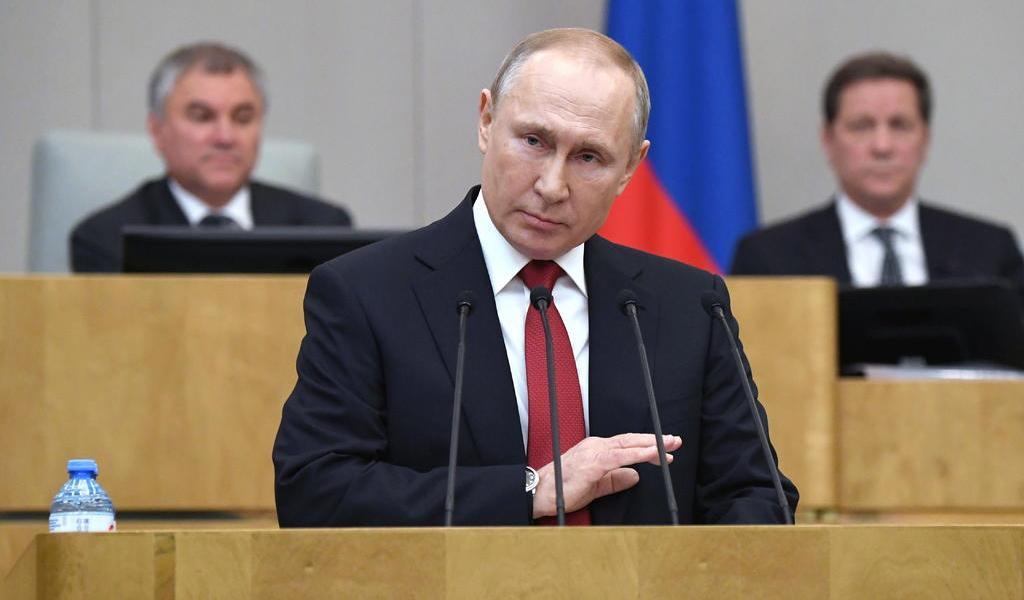 Aprueba parlamento ruso la reelección presidencial sin límites