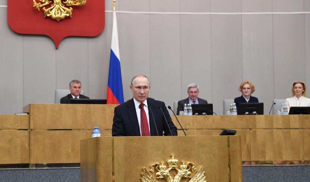 Rusia aprueba reforma con la que Putin podrá extender su mandato