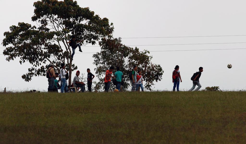 Mueren dos menores indígenas por una mina antipersonal en Colombia