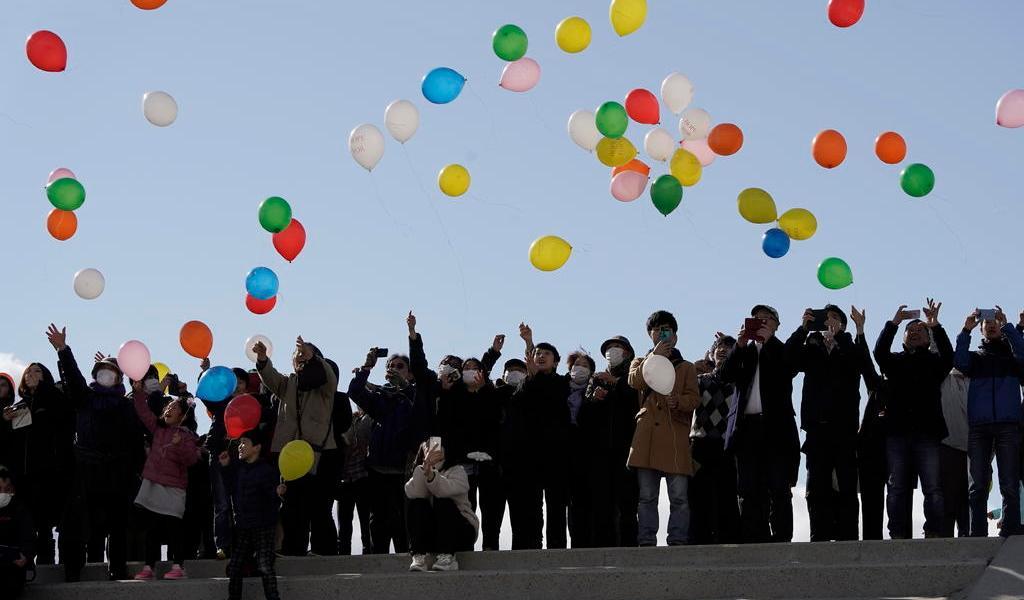 Por el coronavirus, Japón recuerda letal tsunami sin acto oficial