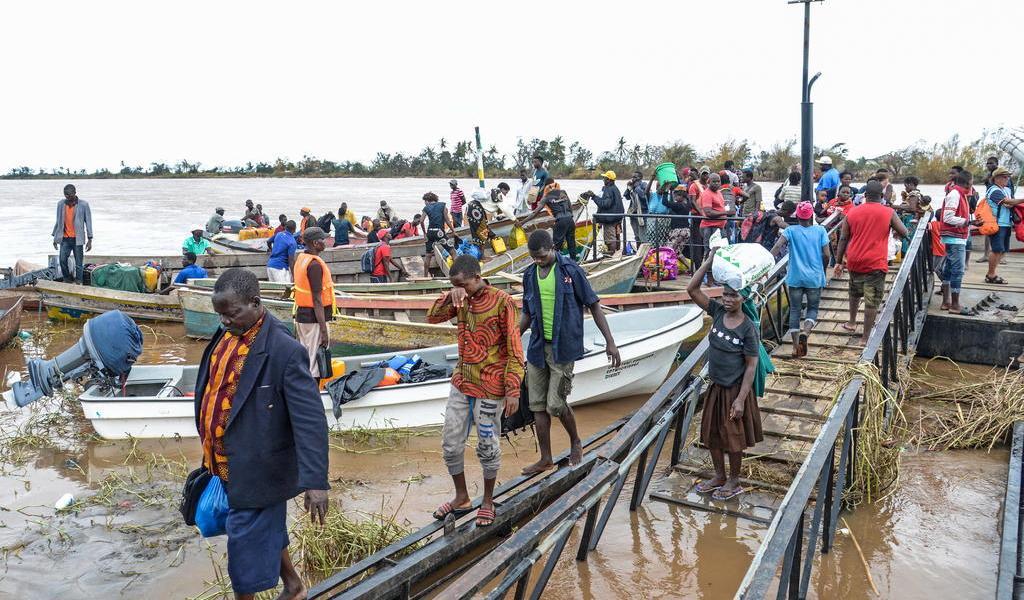 Permanecen miles de desplazados por Idai