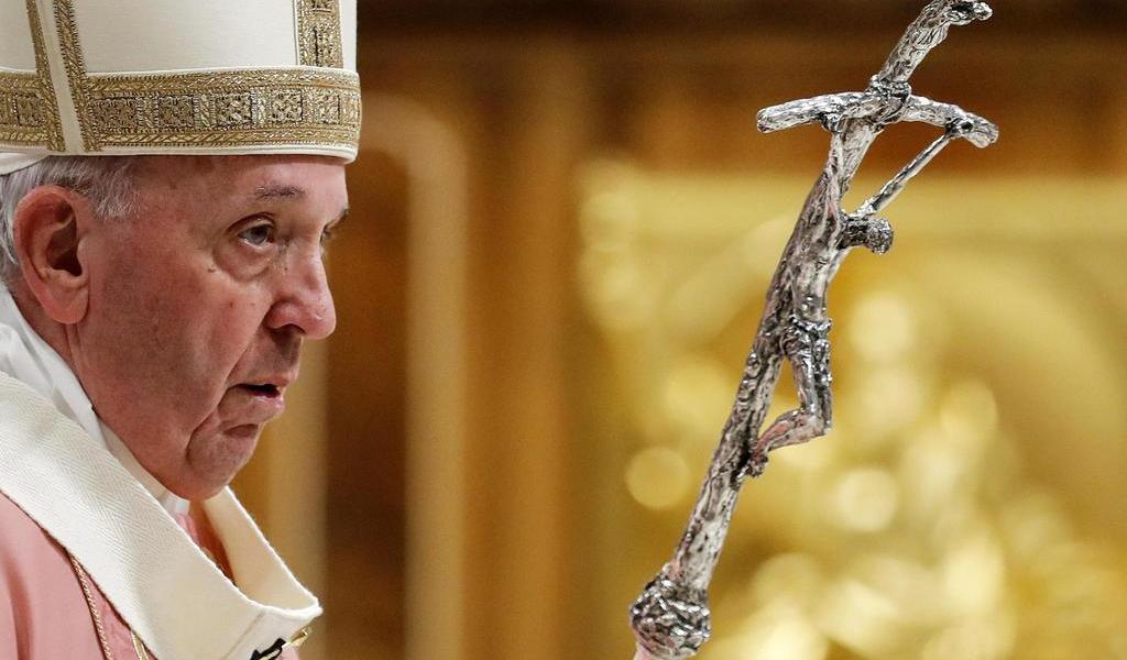 Por coronavirus, Papa Francisco celebrará la Semana Santa sin fieles