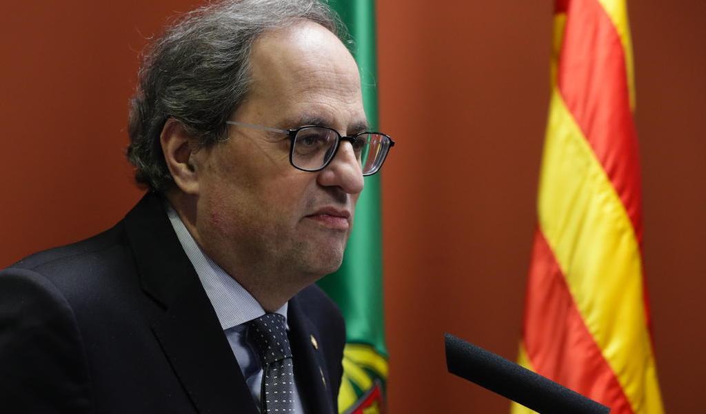 Presidente regional de Cataluña da positivo en coronavirus