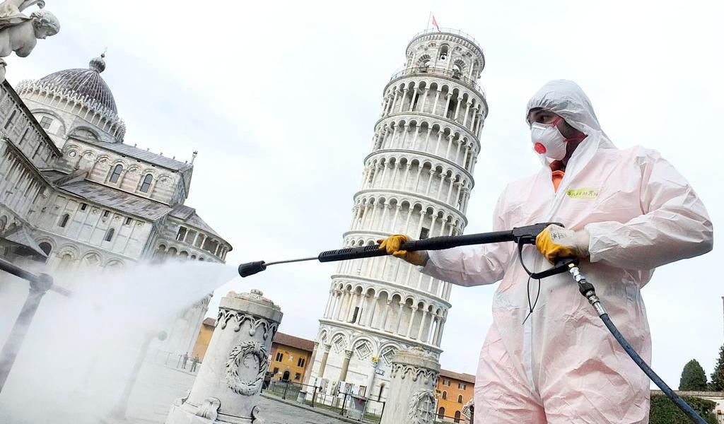 Registra Italia más de 2,500 víctimas mortales por coronavirus