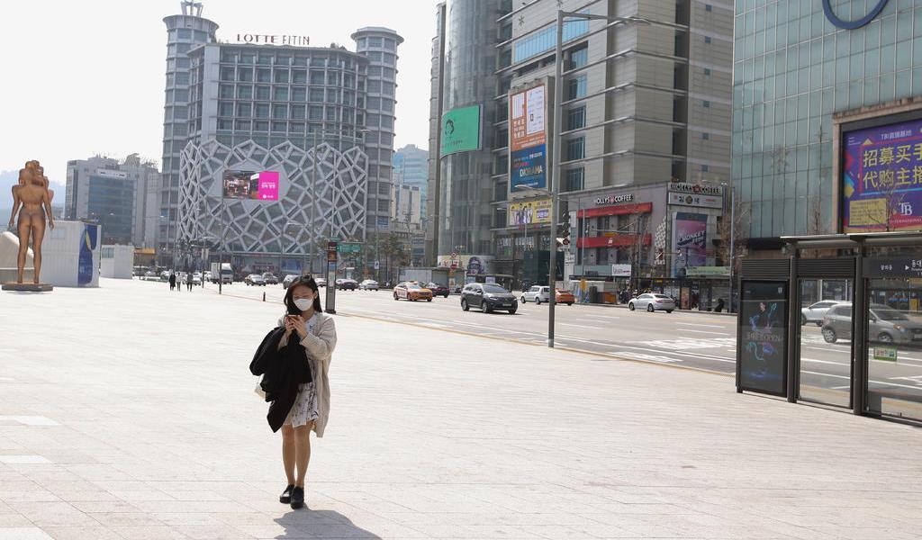 Casos de coronavirus en Corea del Sur se acercan a 9000 tras 98 contagios más