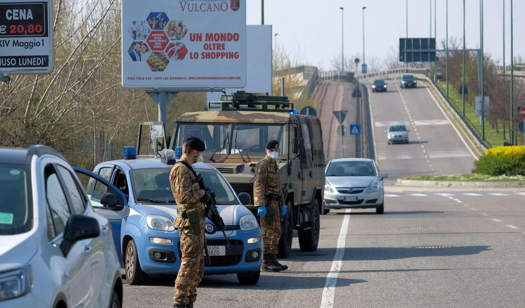 Italia frena toda la actividad no esencial
