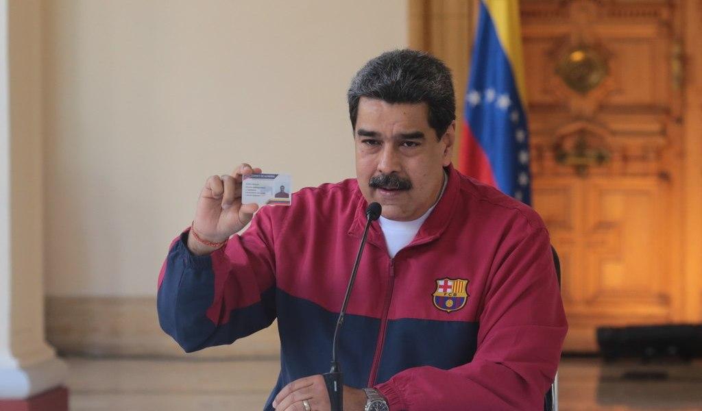Denuncian complot para asesinar a Maduro