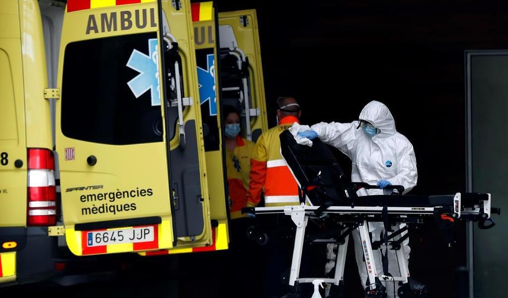 Supera España los 4,000 muertos y 56,000 contagiados por coronavirus