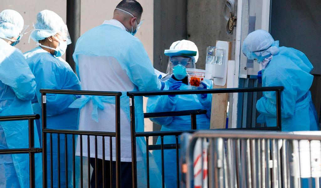 EUA lidera número de contagiados por COVID-19 en el mundo