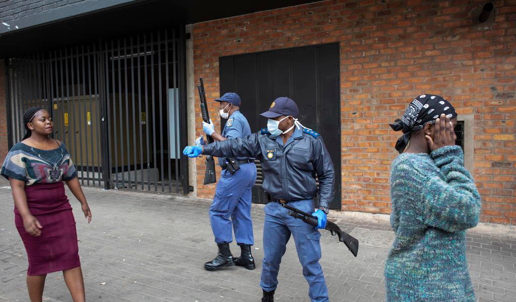 Medidas contra el coronavirus se tornan violentas en África