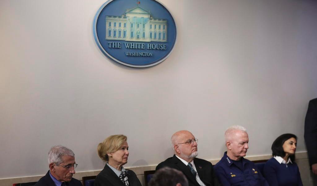 Casa Blanca prohíbe a encargados de pandemia testificar ante Congreso