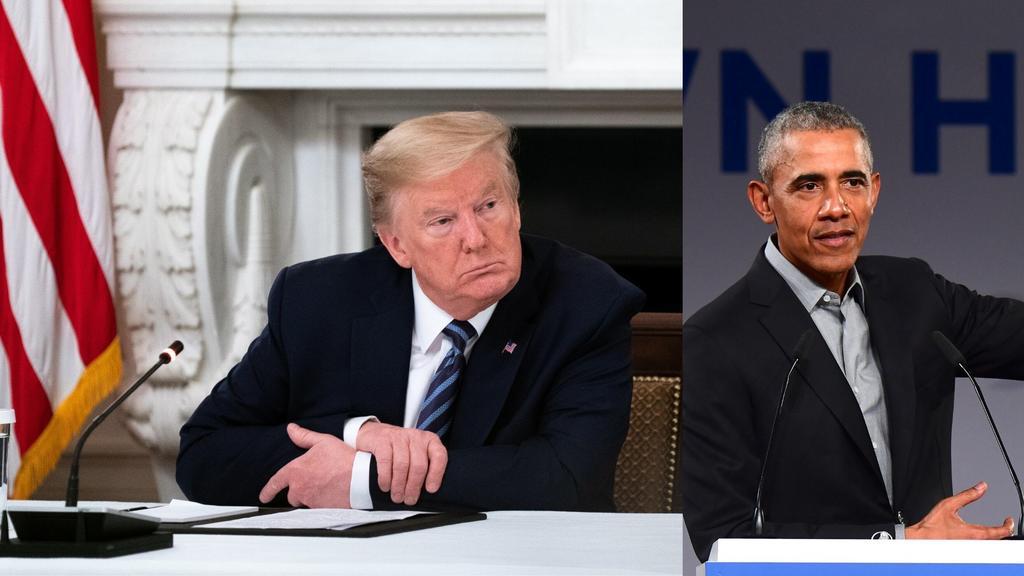 Desastre caótico respuesta de Trump a pandemia: Barack Obama