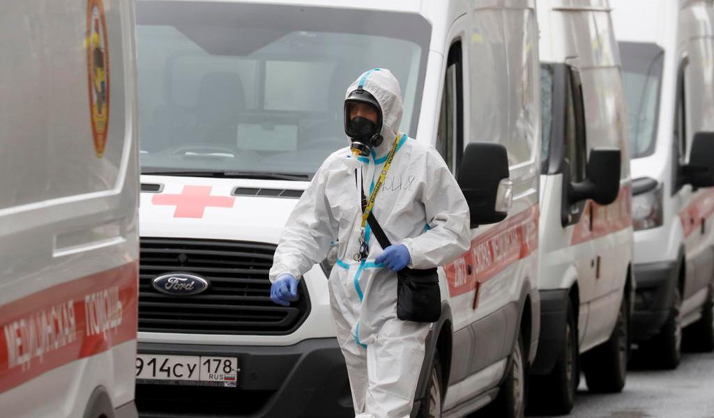 Rusia supera los 200,000 casos confirmados de COVID-19