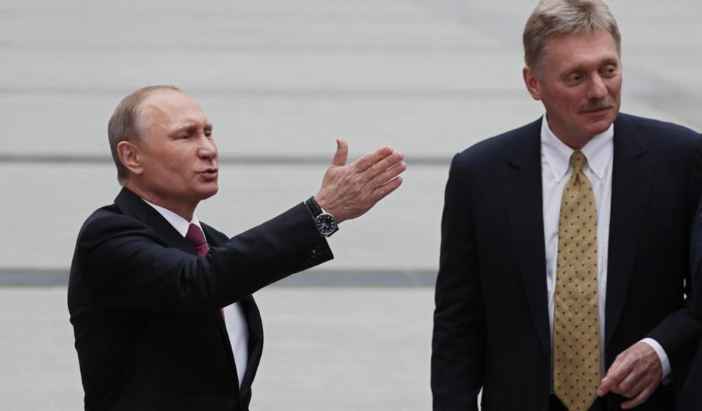 Portavoz de Putin es hospitalizado tras contraer COVID-19