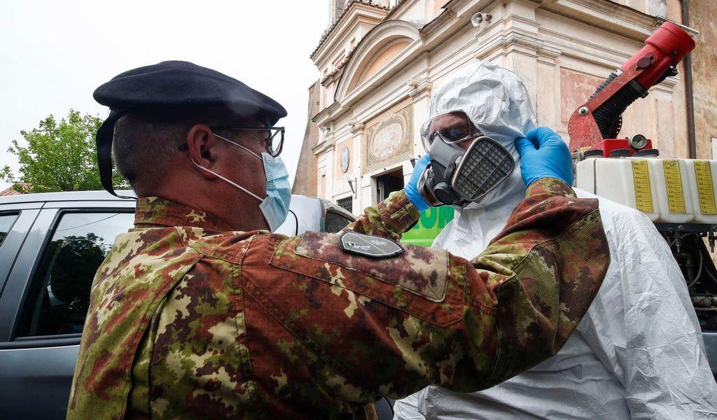 Italia registra un repunte de fallecidos