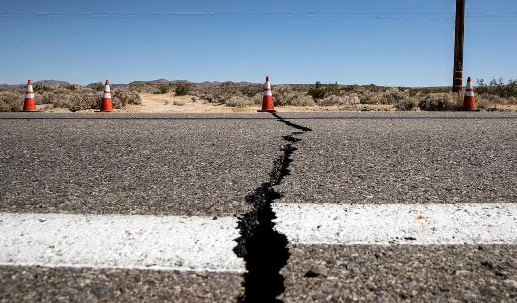 Comparten videos durante el sismo en Nevada y California