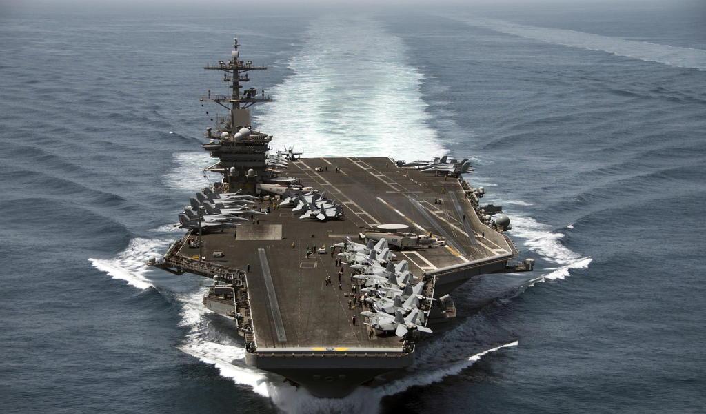 Marineros en portaaviones de EUA dan positivo de nuevo a COVID-19