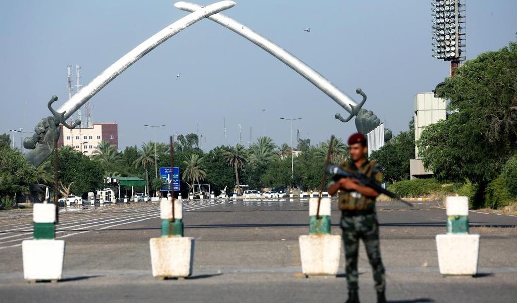 Golpea cohete Zona Verde de Irak sin dejar víctimas