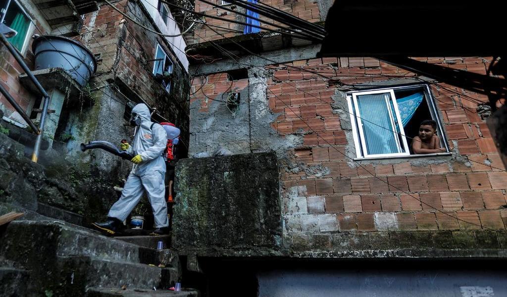 Favelas brasileñas, vulnerables al COVID-19