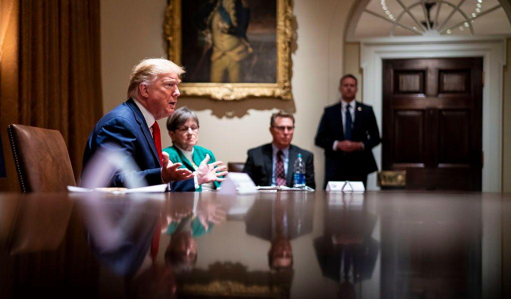 Trump quiere cumbre presencial del G7