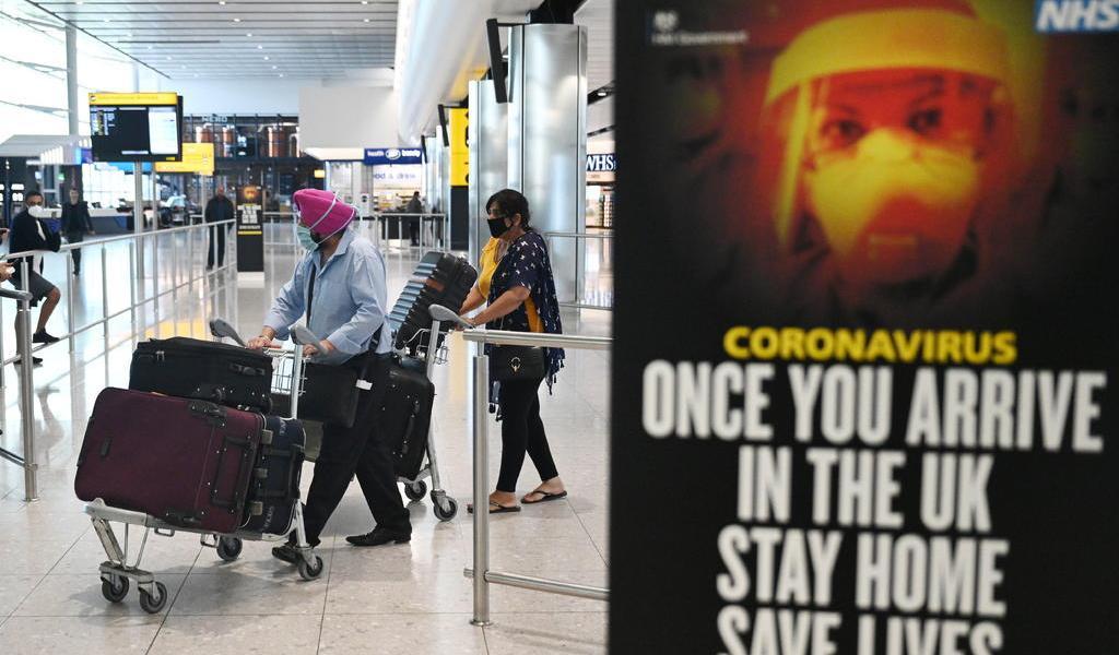 Impondrá Reino Unido cuarentena a los viajeros a partir del 8 de junio
