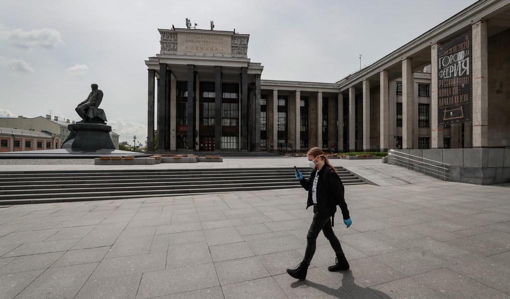 Iniciará Rusia el desconfinamiento el 1 de junio al reducir los casos a la mitad