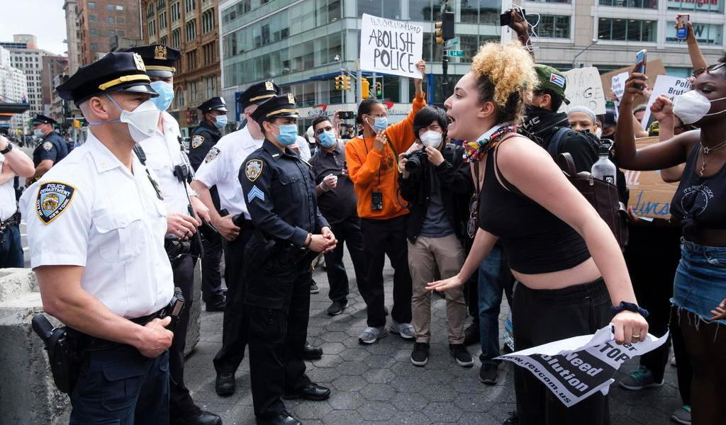 Nueva York se suma a protestas por George Floyd