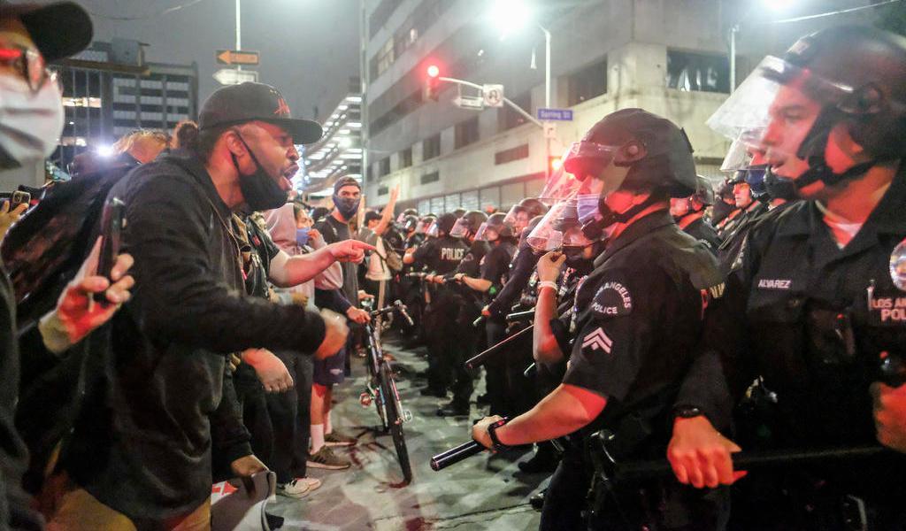 Minesota moviliza a toda su Guardia Nacional para acabar con disturbios tras muerte de George Floyd