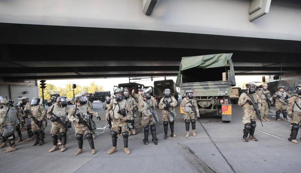 Activan a unos 5 mil efectivos de la Guardia Nacional en todo EUA