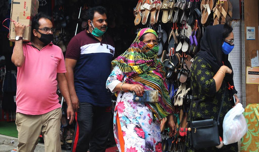 Registra India más de 8,000 nuevos casos de COVID-19 en un día