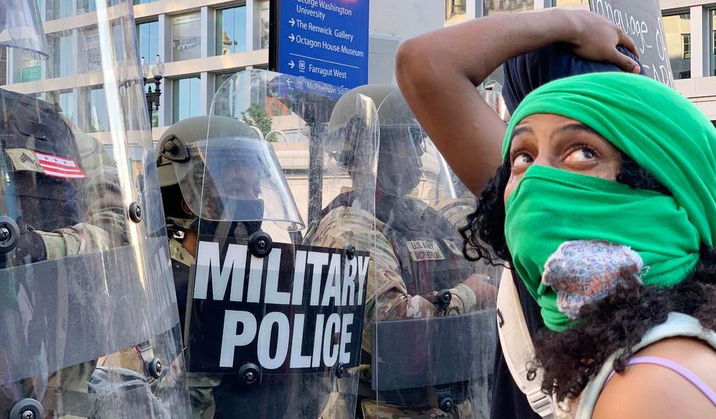 Comunidad internacional condena ataques a protestas en EUA