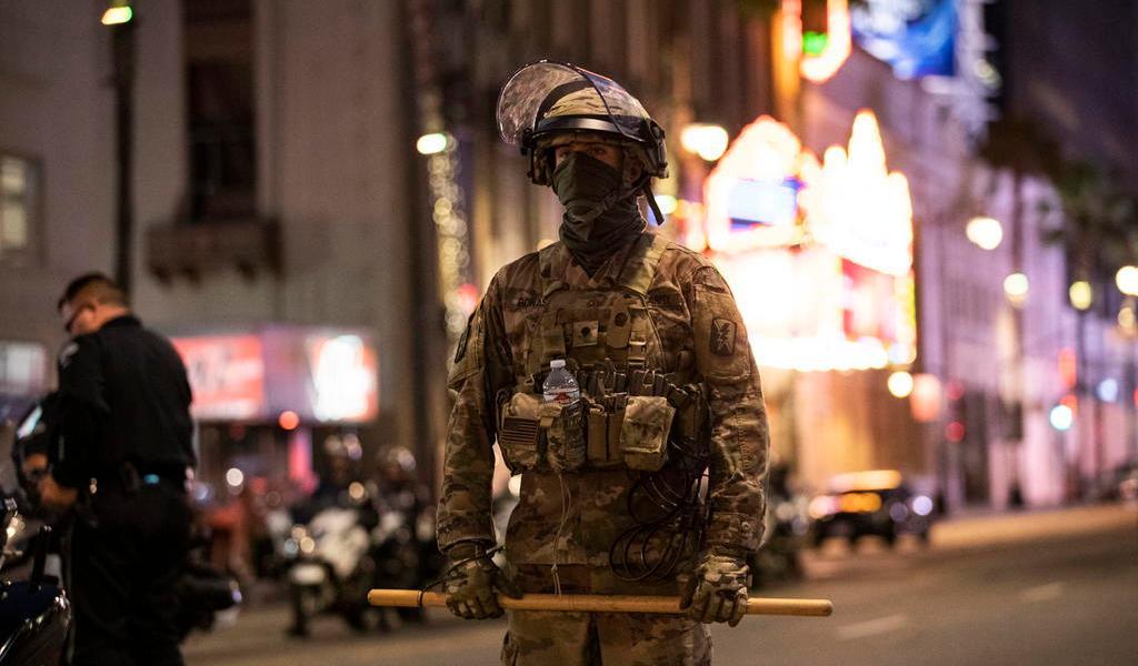 Secretario de Defensa de EUA rechaza uso de militares en protestas
