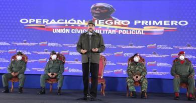 Maduro acusa a Iván Duque de supervisar grupo de mercenarios