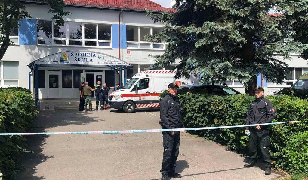 Ataque a puñaladas deja un muerto en escuela de Eslovaquia