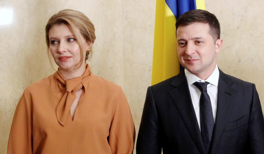 Primera dama ucraniana da positivo a COVID-19