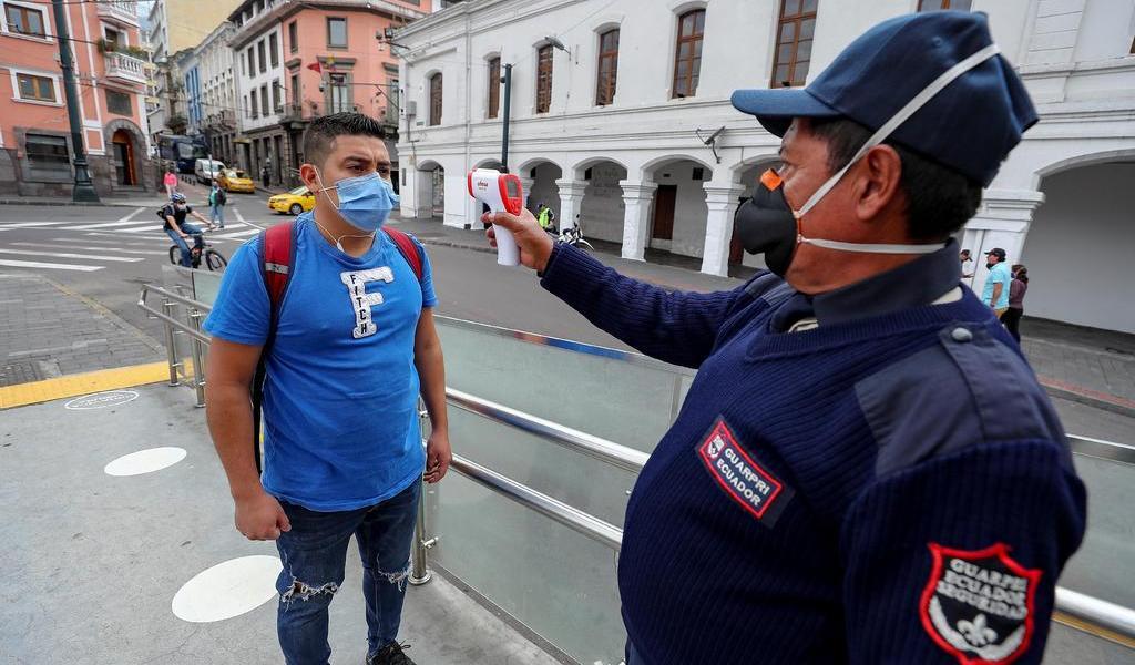 Amplía Ecuador por 60 días estado de excepción por COVID-19