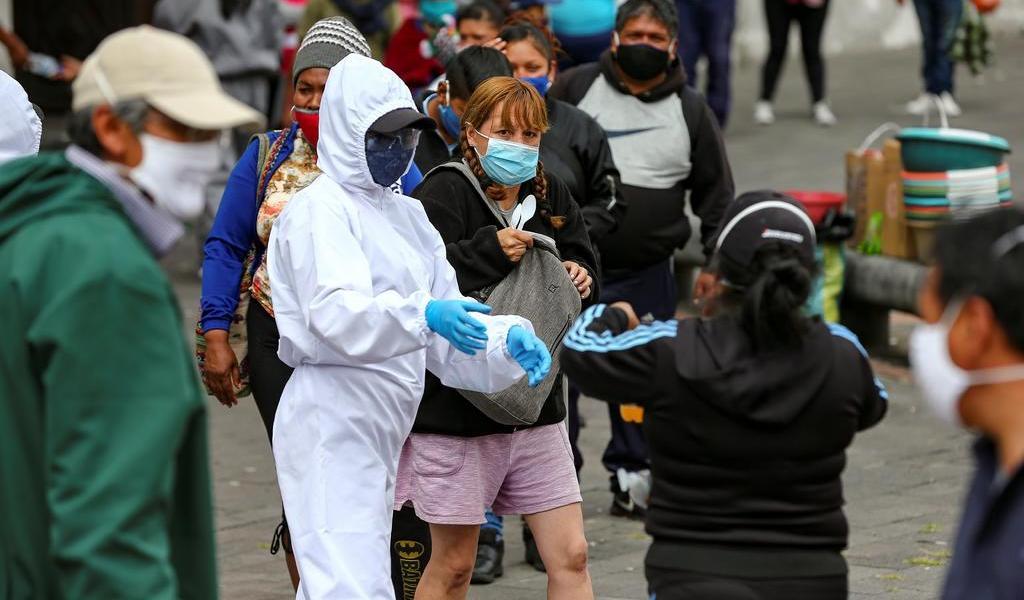 Supera Ecuador las 4 mil muertes confirmadas por COVID-19