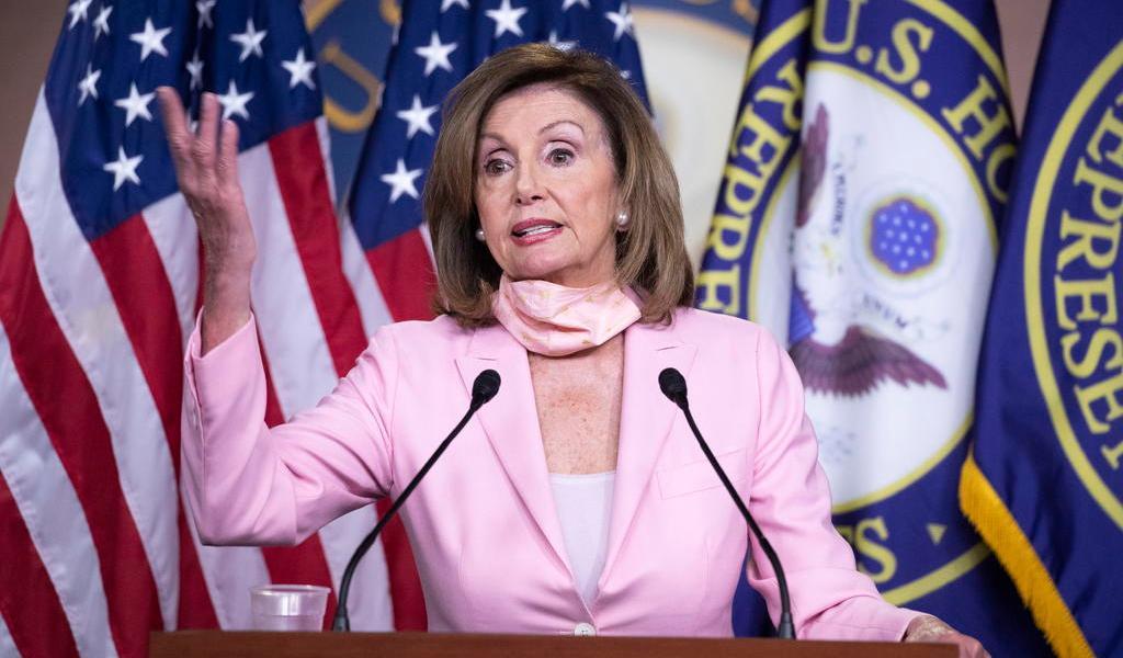 Ordena Pelosi retirar del Capitolio de EUA retratos de cuatro confederados