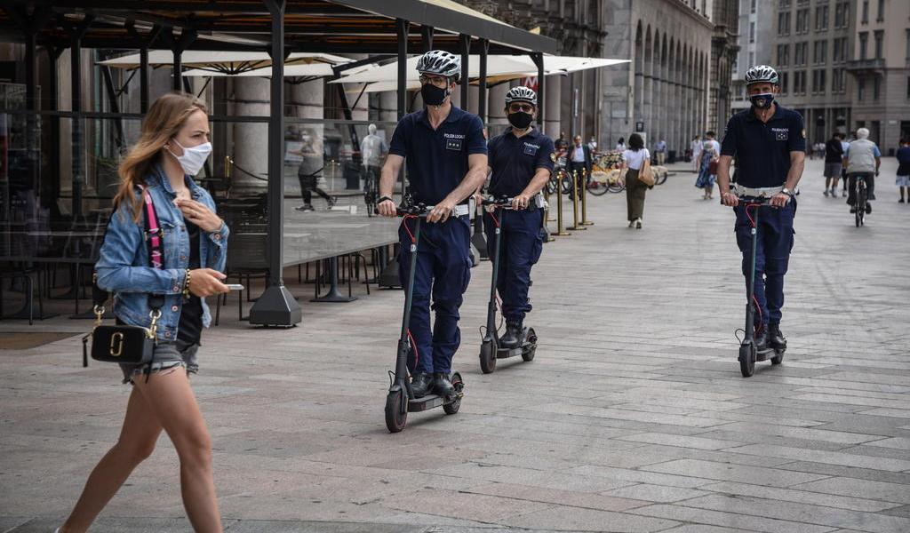 Registra Italia 30 muertes por COVID-19 en 24 horas