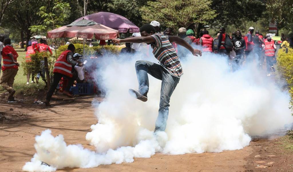 Mueren 3 personas en protestas en la República Democrática del Congo