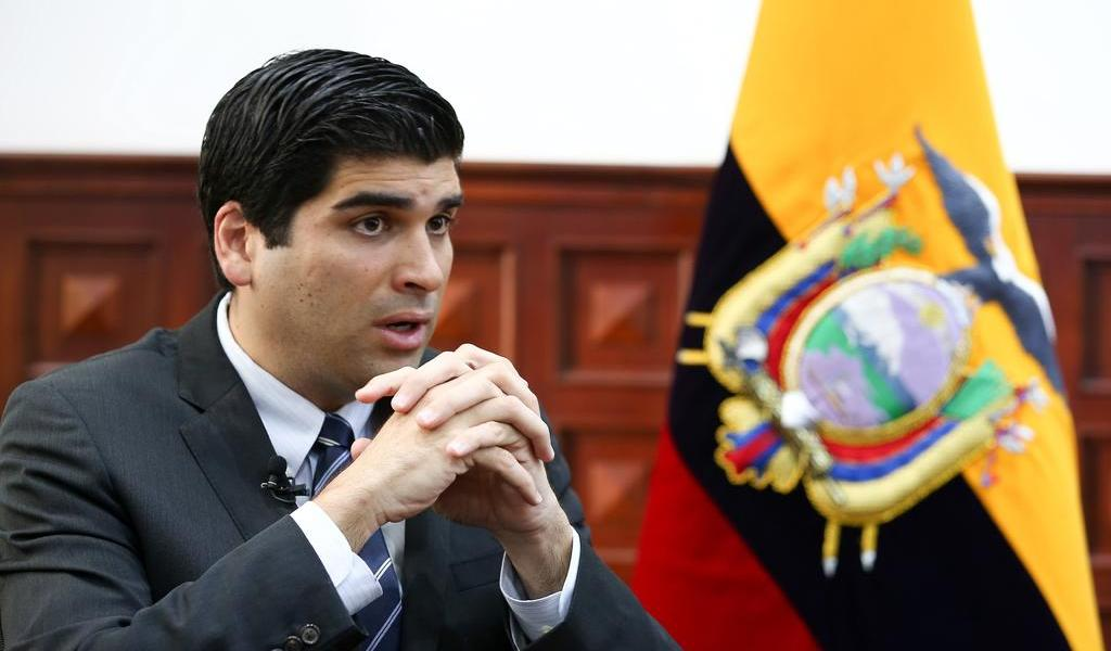 Acepta Asamblea Nacional la renuncia del vicepresidente de Ecuador